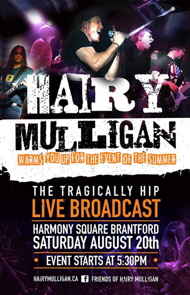 Good Times At Harmony Square With Tragically Hip Fans