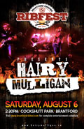Join Hairy Mulligan At Ribfest 2016!!